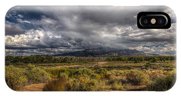 Towards Sandia Peak IPhone Case