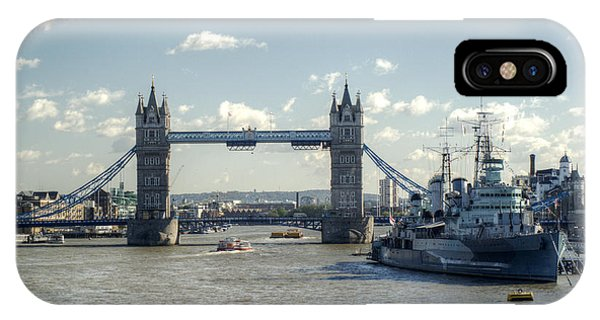 iPhone Case - Tower Bridge And Hms Belfast 3 by Chris Day