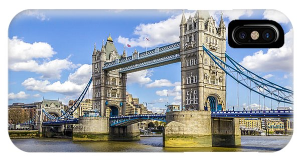 Tower Bridge Phone Case by Angela Aird