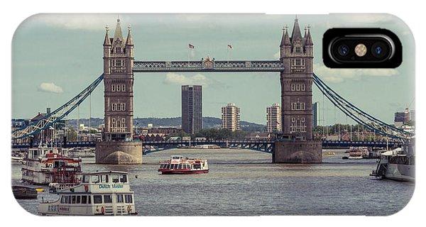 Tower Bridge B IPhone Case