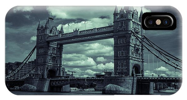 Tower Bridge Bw IPhone Case