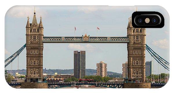 Tower Bridge C IPhone Case