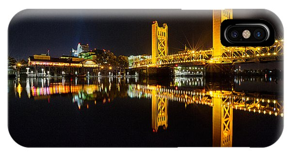 Tower Bridge Sacramento IPhone Case