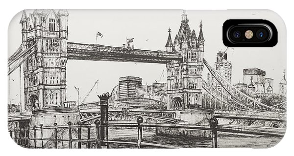 Tower Bridge IPhone Case