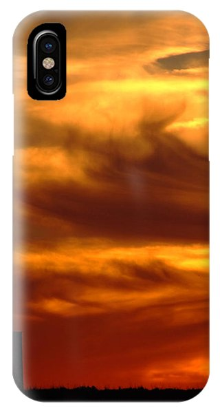 Tower In Sunset IPhone Case