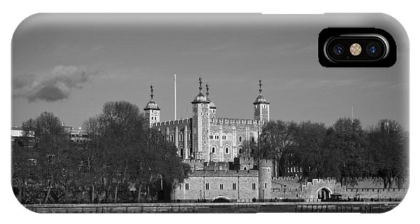 Tower Of London Riverside IPhone Case