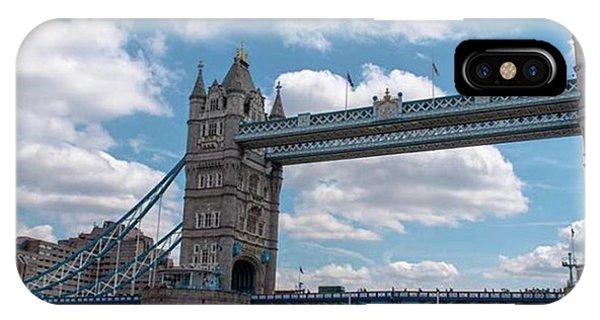 London Bridge iPhone Case - #towerbridge #tower #london #england by Fink Andreas