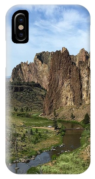 Towering Smith Rocks IPhone Case
