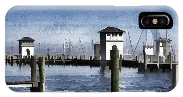 Towers And Masts IPhone Case