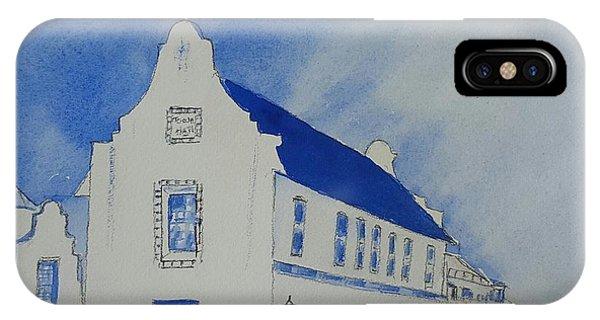 Town Hall, Rosemary Beach IPhone Case