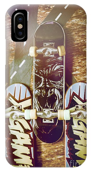 Fun iPhone Case - Toy Skateboards by Jorgo Photography - Wall Art Gallery