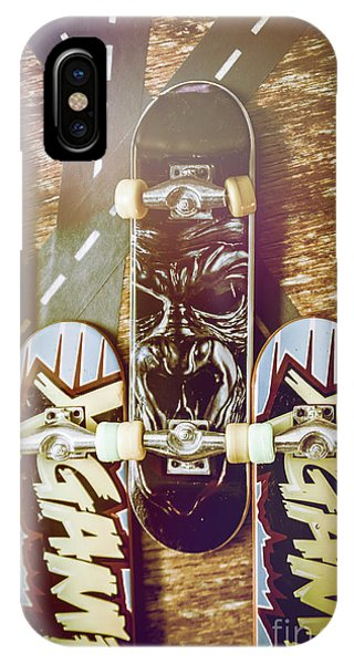 Truck iPhone Case - Toy Skateboards by Jorgo Photography - Wall Art Gallery