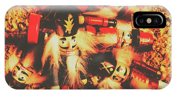 Xmas iPhone Case - Toy Workshop Soldiers by Jorgo Photography - Wall Art Gallery