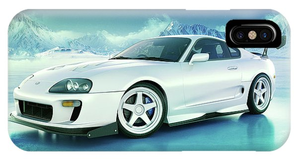 Toyota Supra Mkiv IPhone Case