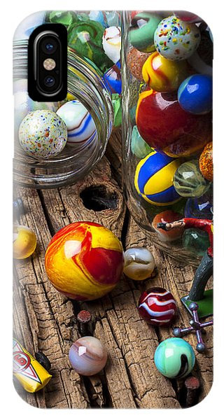 Novelty iPhone Case - Toys And Marbles by Garry Gay
