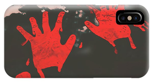 Zombies iPhone Case - Trace Of A Serial Killer by Jorgo Photography - Wall Art Gallery