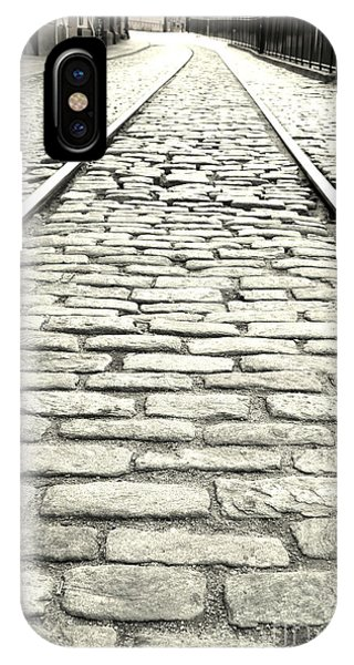 Tracks In The Road IPhone Case