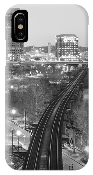 Tracks Into The City IPhone Case