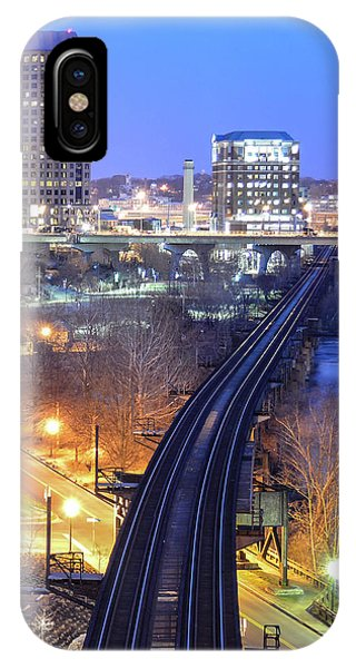 Tracks Into The City Color IPhone Case