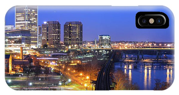 Tracks Into The City Wide Angle IPhone Case