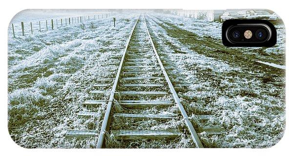 Train Tracks iPhone Case - Tracks To Travel Tasmania by Jorgo Photography - Wall Art Gallery