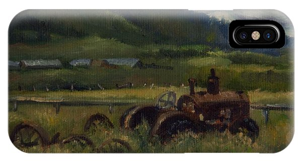 Tractor From Swan Valley IPhone Case