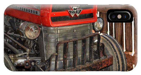 Tractor Grill  IPhone Case