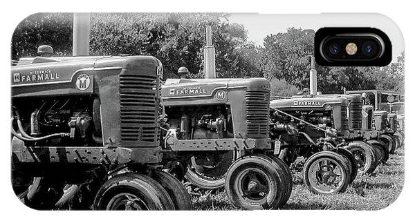 Tractors IPhone Case