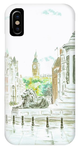 Trafalgar Square IPhone Case