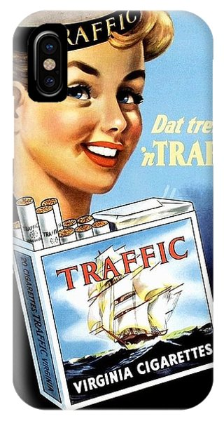 iPhone Case - Traffic Cigarette by Reinvintaged