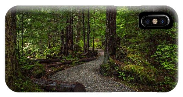 Trail Around Ward Lake Ketchikan Alaska IPhone Case