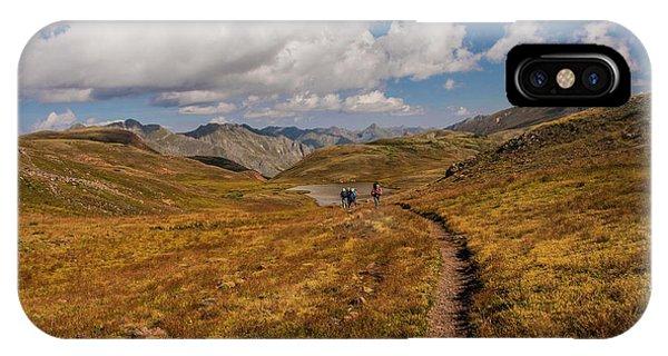 Trail Dancing IPhone Case