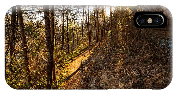 Trail Of Happiness - Blowing Springs Trail Arkansas IPhone Case