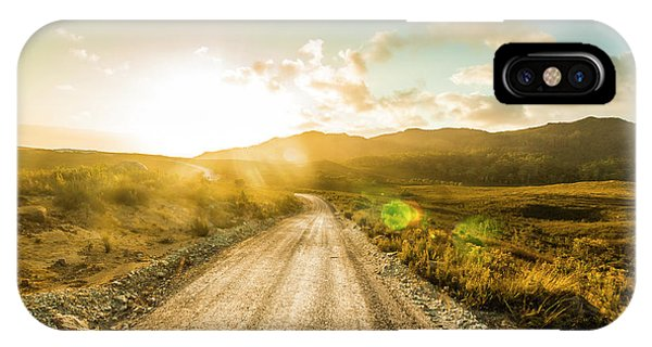 Rural iPhone Case - Trail To Trial by Jorgo Photography - Wall Art Gallery