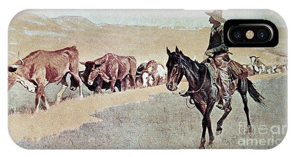 Trailing Texas Longhorns IPhone Case