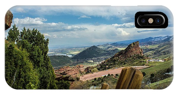 Trails At Red Rocks IPhone Case