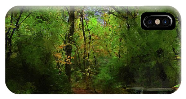 Trailside Bench IPhone Case