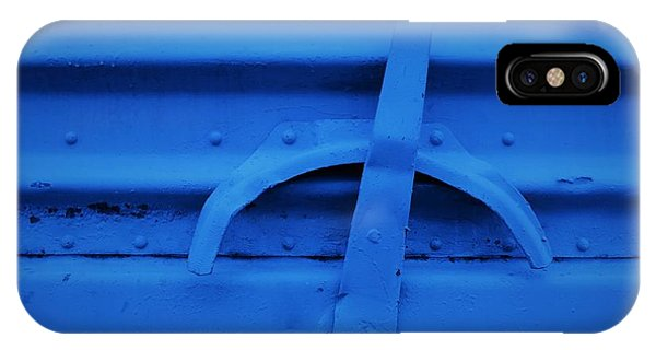 Blue Boxcar Bracket  IPhone Case