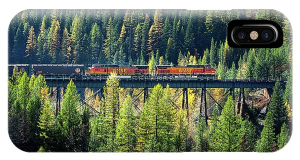 Trestle iPhone Case - Train Coming Through by Todd Klassy