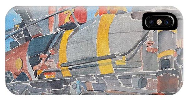 Train Engine IPhone Case
