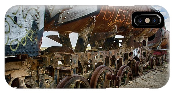 Train Graveyard Uyuni Bolivia 14 IPhone Case