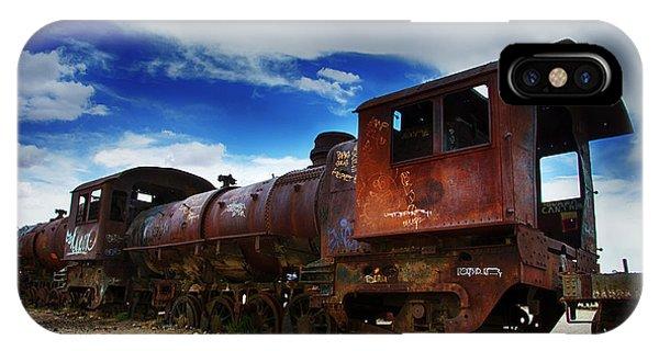 Train Graveyard Uyuni Bolivia 15 IPhone Case
