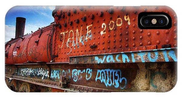 Train Graveyard Uyuni Bolivia 17 IPhone Case