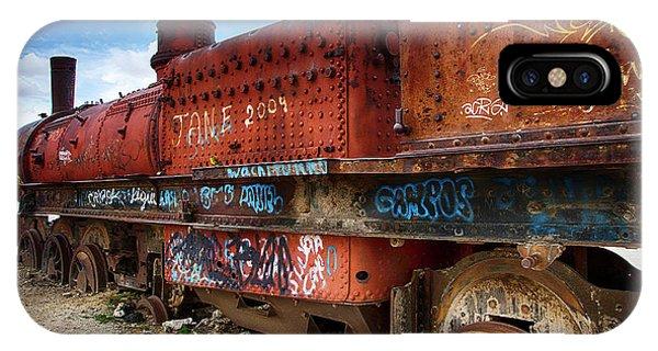 Train Graveyard Uyuni Bolivia 18 IPhone Case