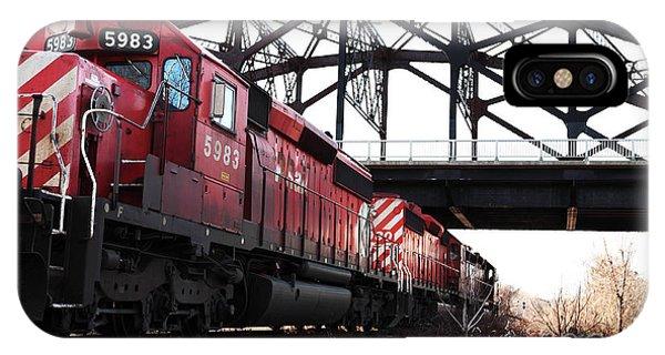 Train Phone Case by John Rizzuto