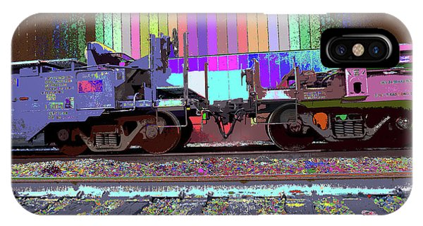 Train Parked IPhone Case