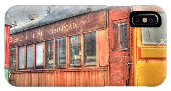 Train Series 5 Phone Case by David Bearden