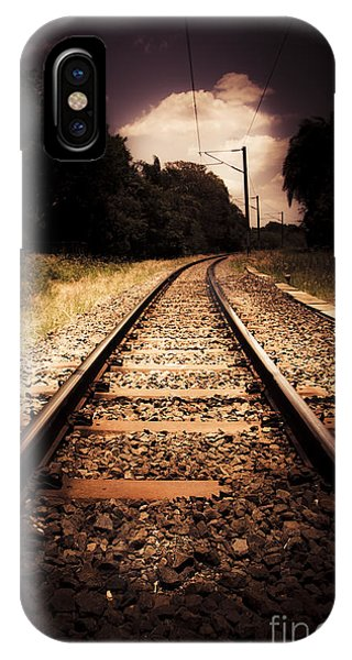 Commute iPhone Case - Train Tour Of Darkness by Jorgo Photography - Wall Art Gallery