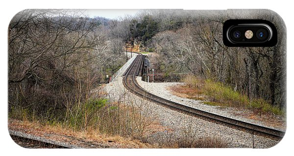 Train Tracks Across The New River - Radford Virginia IPhone Case