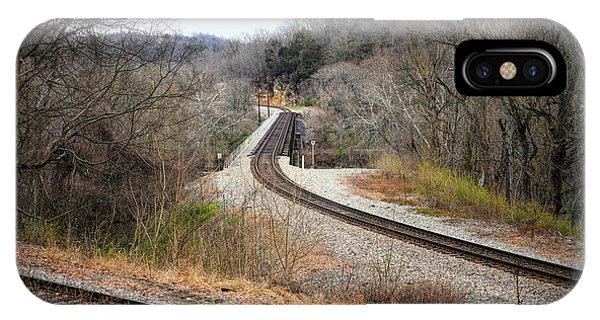 Train Tracks Across The New River - Radford Virginia IPhone Case